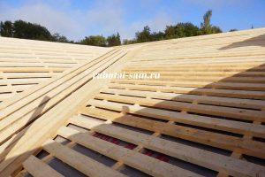Деревянная обрешетка крыши