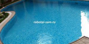 Готовый бассейн из бетона