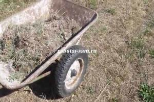 Самодельные колеса для тележки