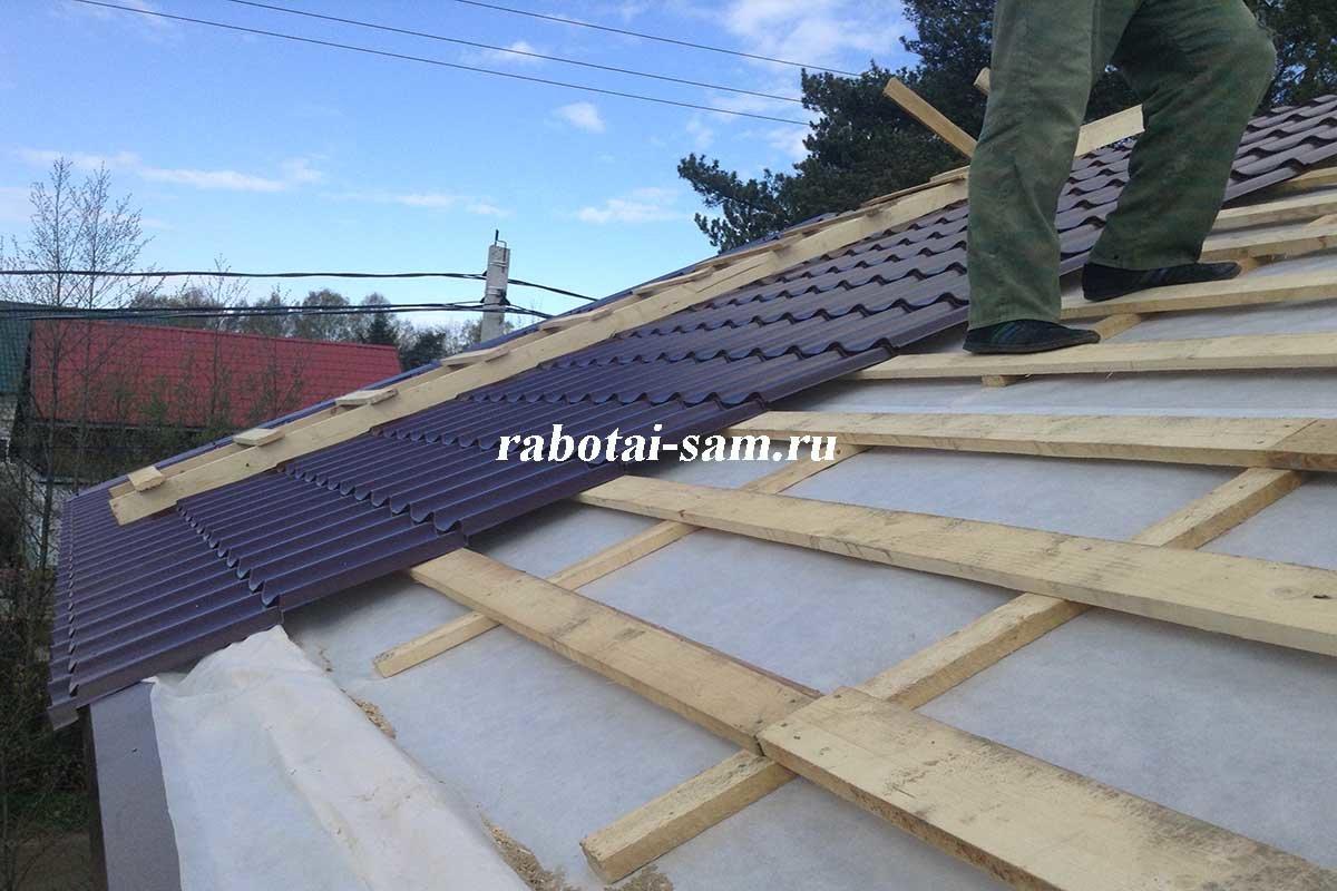 Гидроизоляция для крыши сметаллочерепичей гидроизоляция обмазочная флехендихс