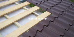 Металлочерепичная крыша