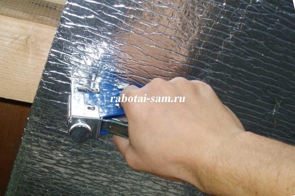Гидроизоляция стен сауна