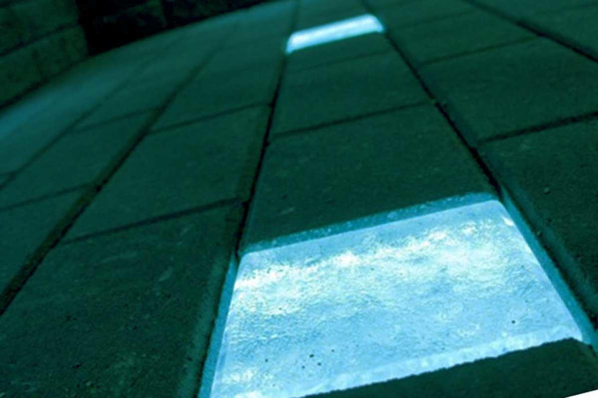 светящийся бетон технология