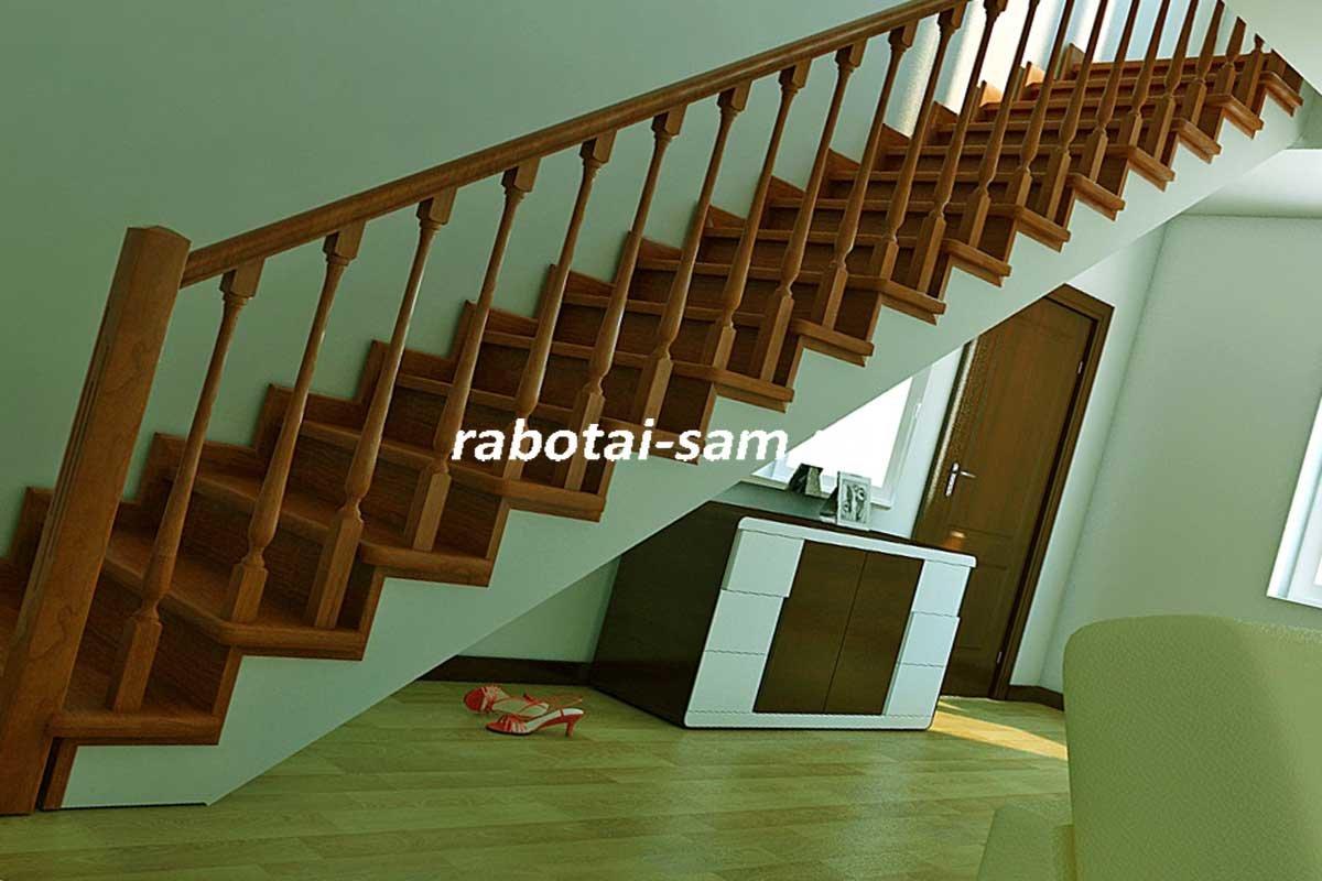 Как сделать маршевую лестницу своими руками фото 9