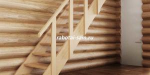 Фото деревянной лестницы в доме