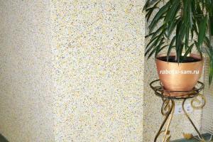 Флок на стенах