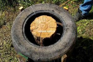 Как рубить дрова топором