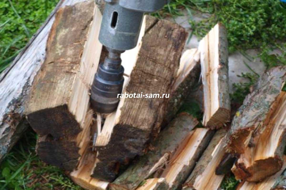 Клин для колки дров своими руками фото 185