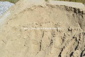 Обычный речной песок для бетона под забор