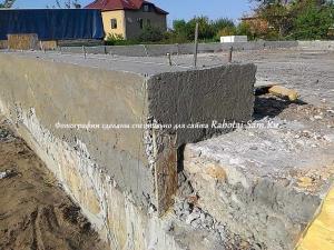 Реставрация фундамента частного дома