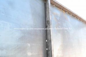 Сварка своими руками металлических ворот гаража