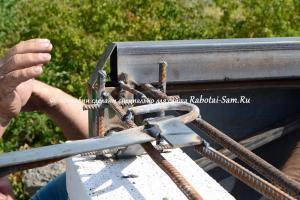 Как правильно закрепить раму ворот после установки