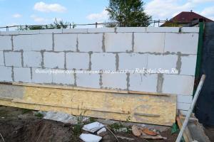 Строительство простого гаража своими руками