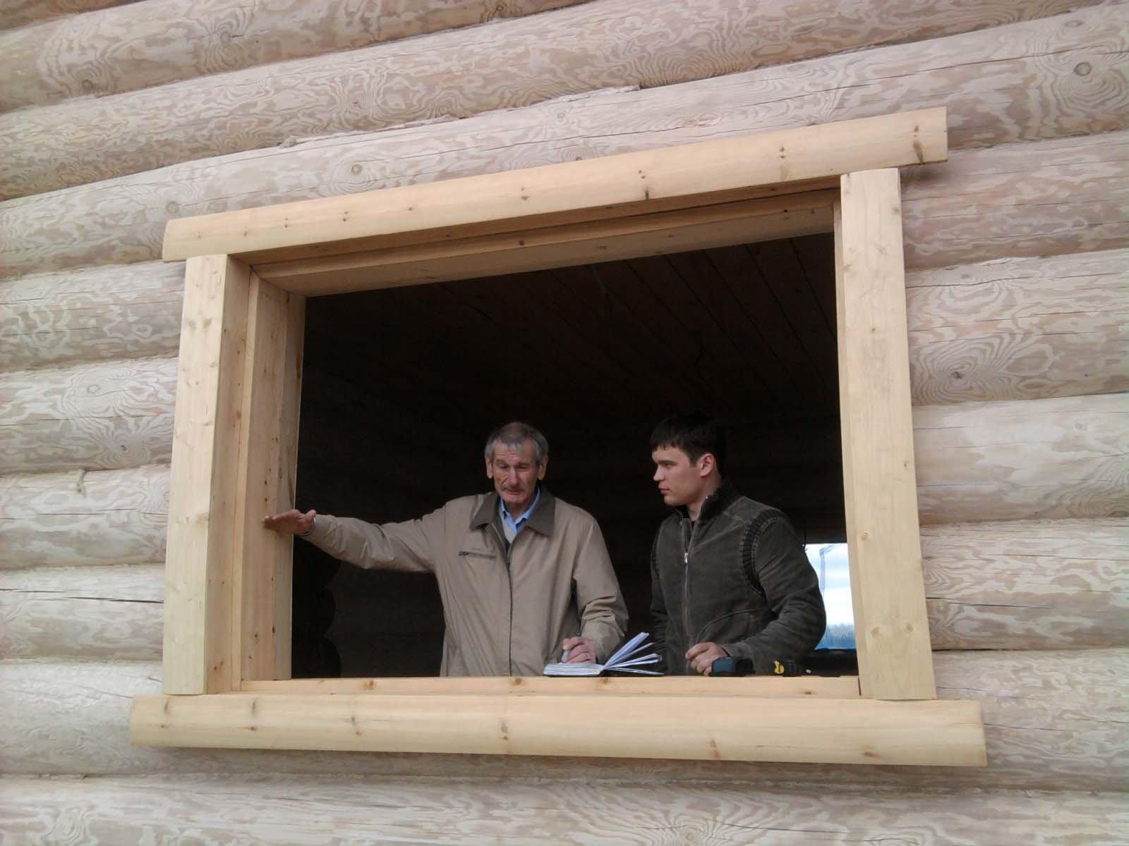 Монтаж металлопластикового окна в доме из дерева своими руками