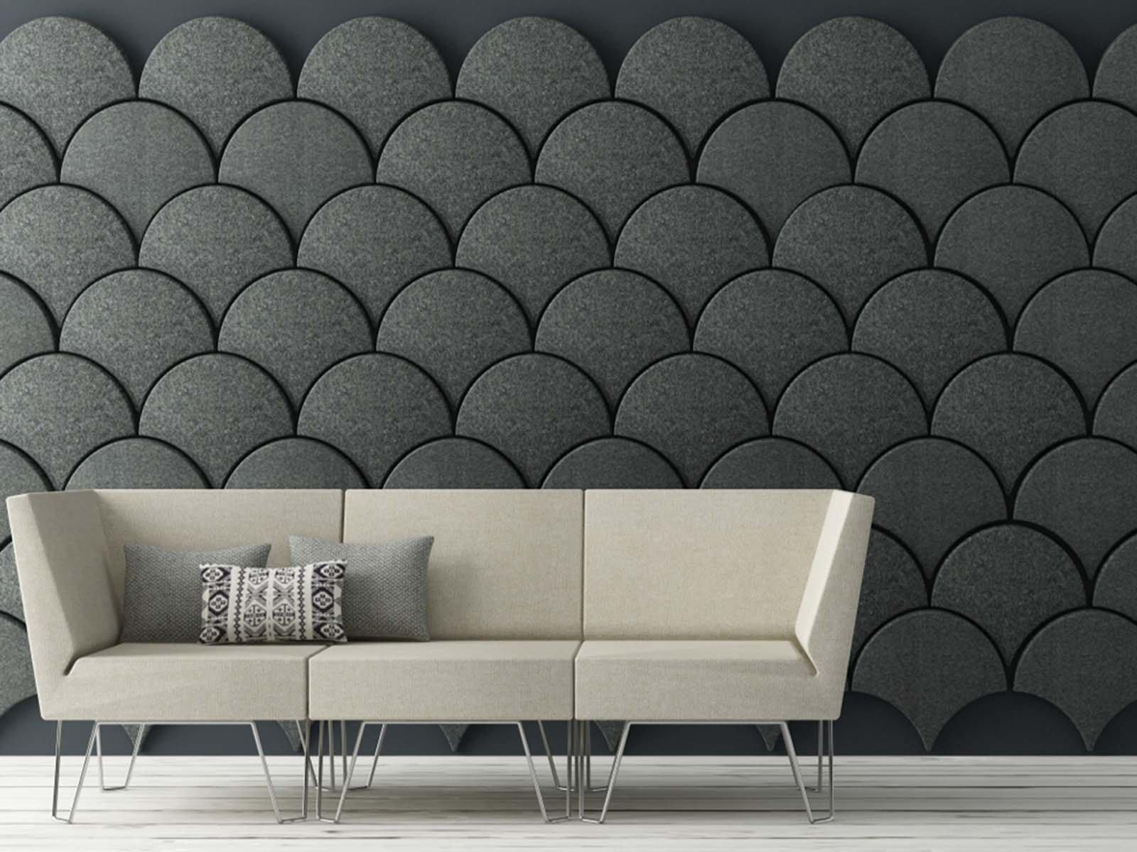 Основные характеристики стеновых акустических панелей