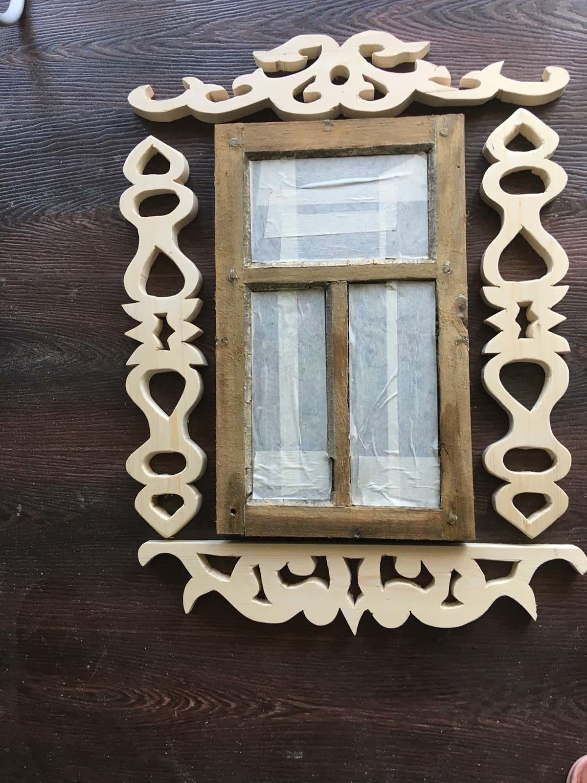 Создаем красивую раму деревянного туалета