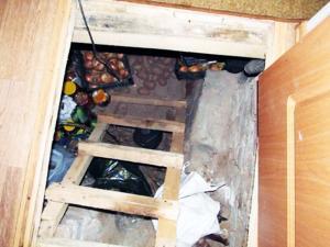 Мини подвал в доме