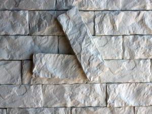 Гипсовые колотые плитки для декора стен