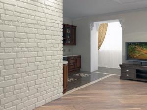 Гипсовый кирпич для декора стен