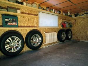 Система отопления в гараже для сухости