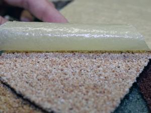 Слои и структура листов гибкого камня.