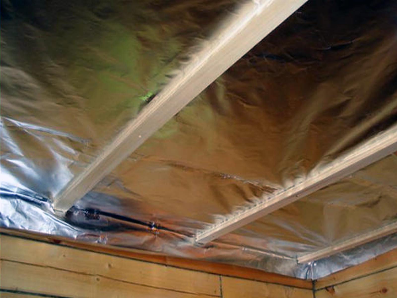 Гидроизоляция потолка душевой кабины
