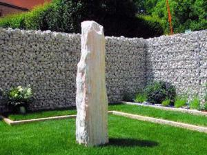 Создаем стены из габиона в саду