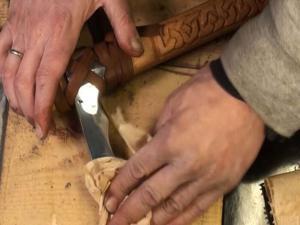 Так выглядит готовый топор викинга