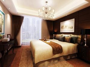 Коричневые оттенки в деталях и декоре комнаты