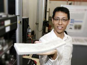 Ученые добавляя обычные ракушки в бетон сделали его эластичным