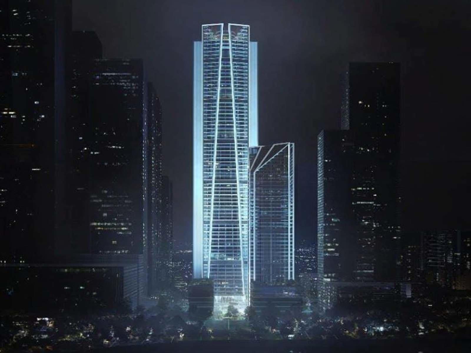 Автономный небоскреб в Китае