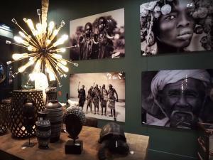 """Этнический стиль 2020 и его элементы декора - """"африканский картины"""""""