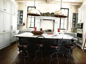 Выбираем для кухни светильники в индустриальном стиле