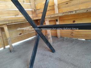 Строение каркаса деревянного стола