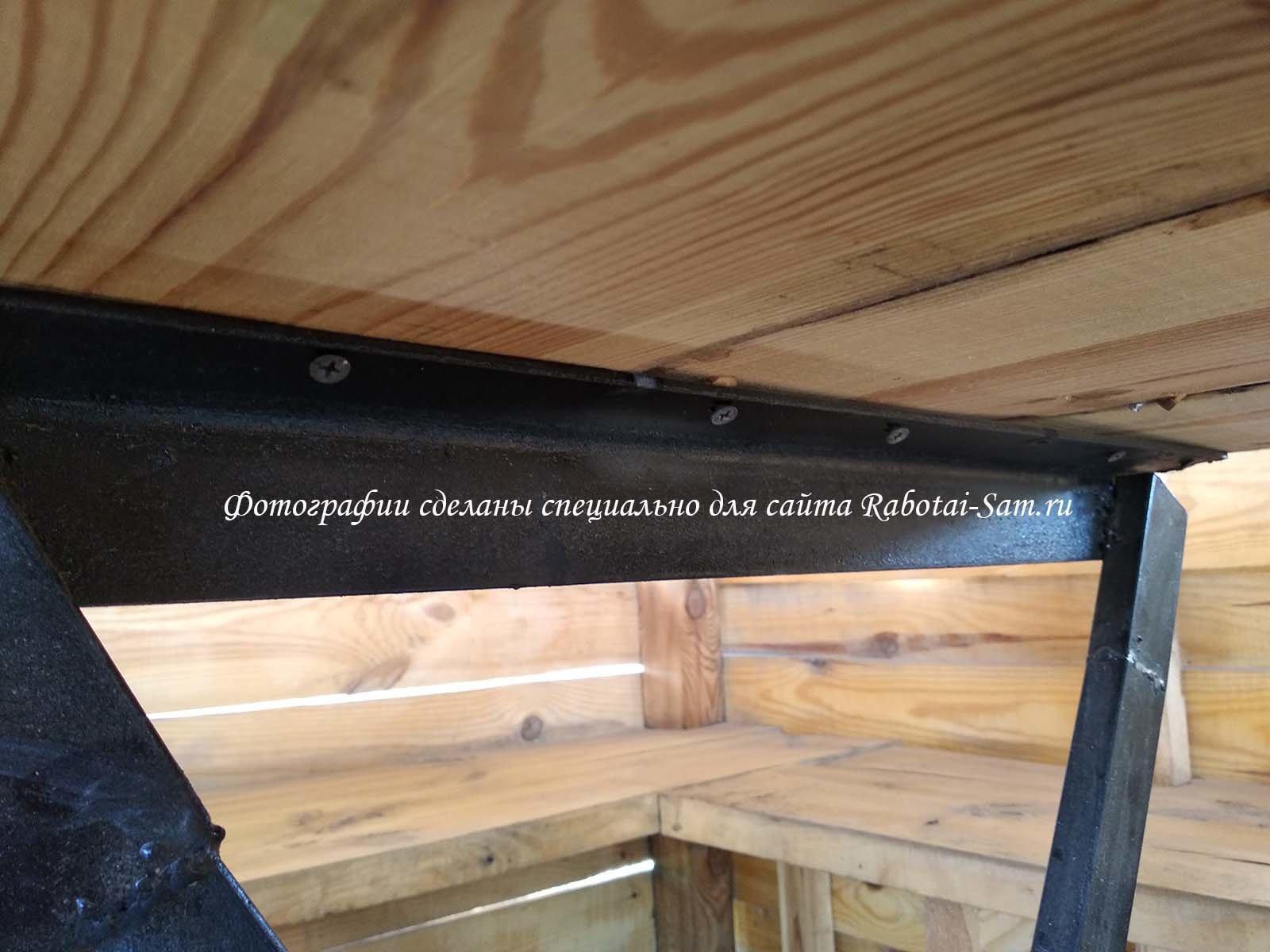 Крепления для деревянной столешницы