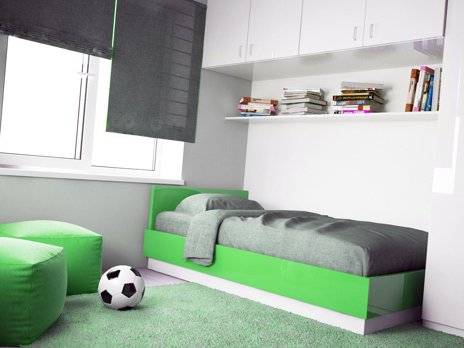 Украашем детскую комнаты по принципу минимализма