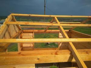 Делаем обрешетку крыши для деревянной беседки своими руками
