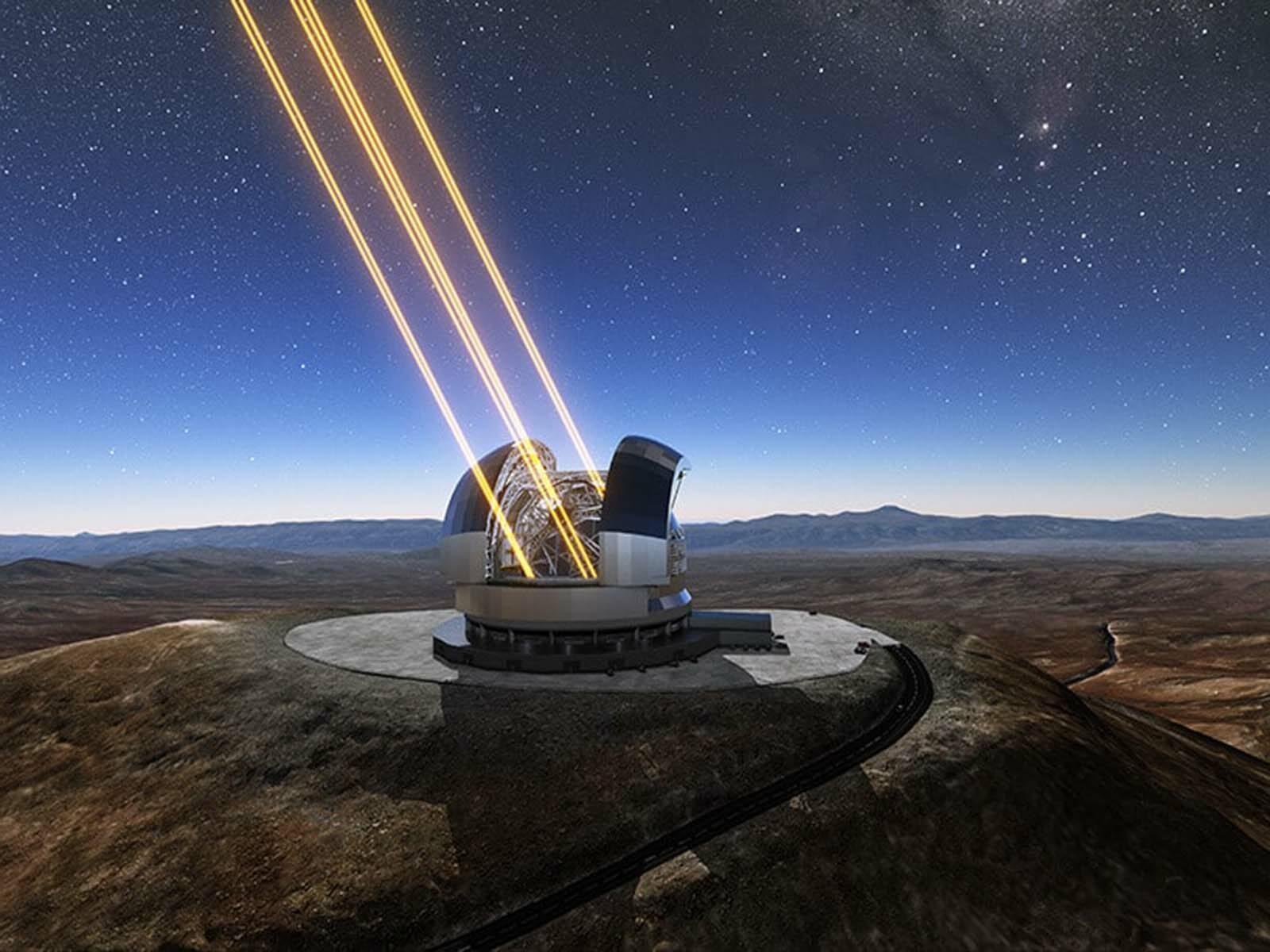 Самый большое ЕЛТ телескоп в мире