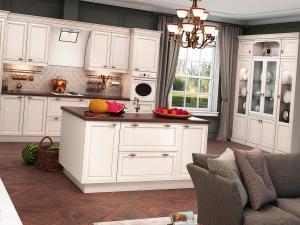 Современное дизайнерское решение - прямоугольный кухонный остров