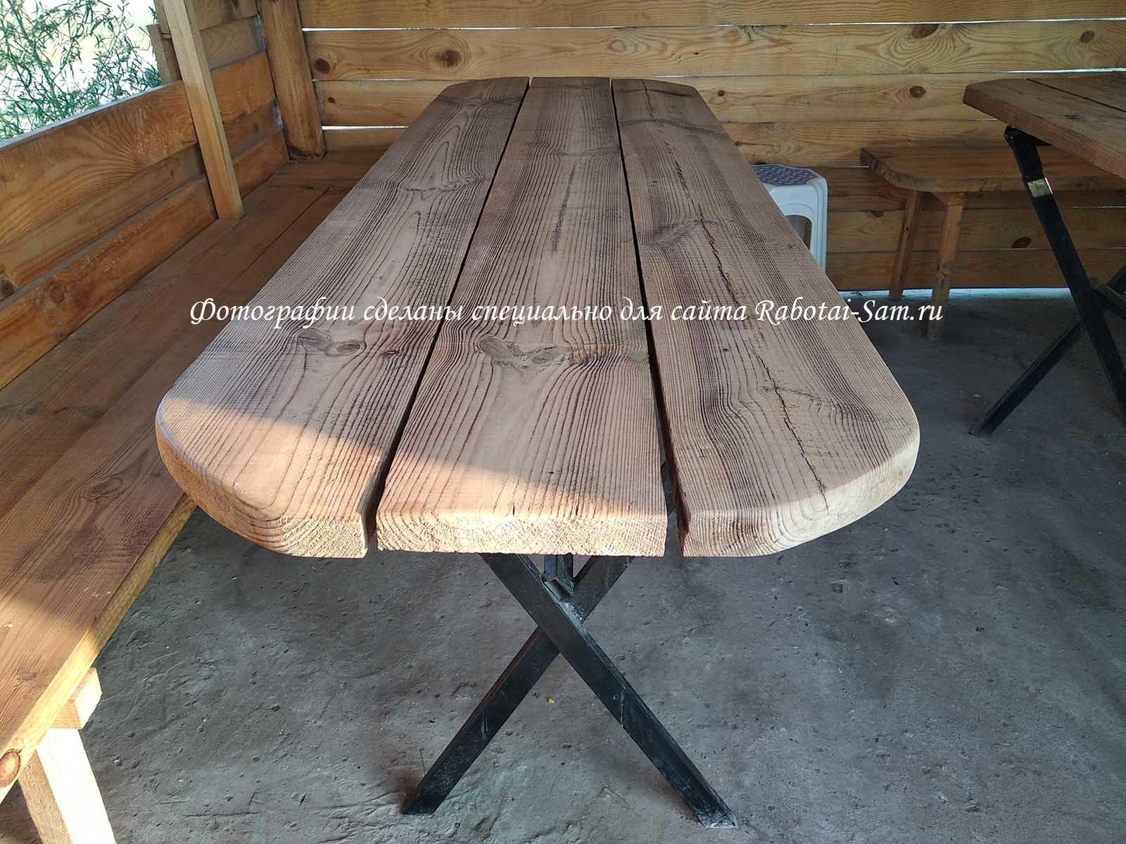 Столешница для деревянного стола
