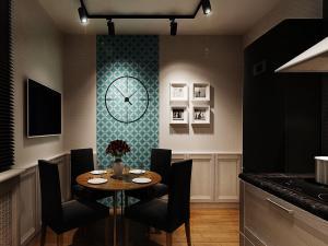 Декорируем кухню трековыми светильниками