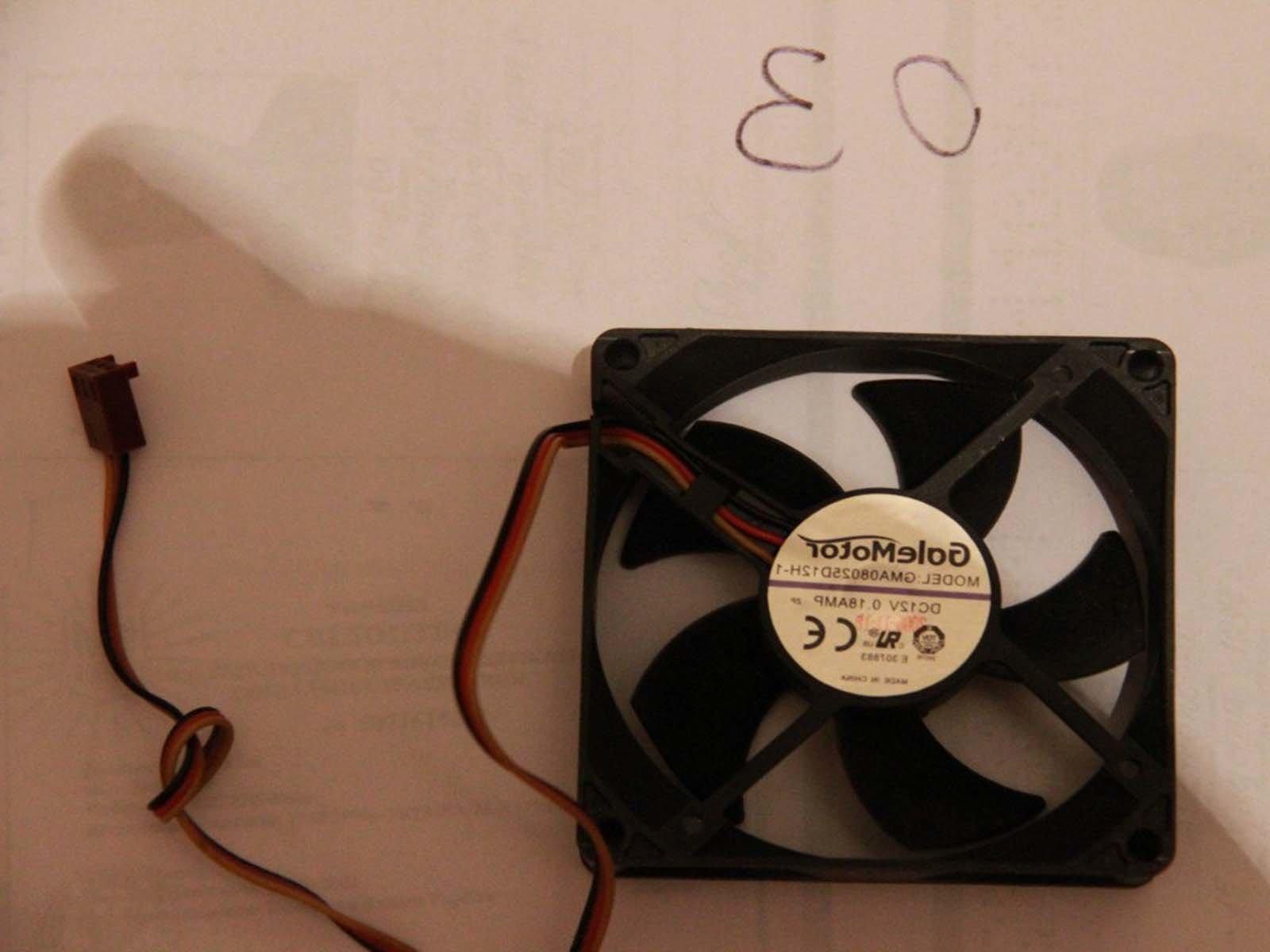 Используем такой вентилятор для сушилки для рыбы