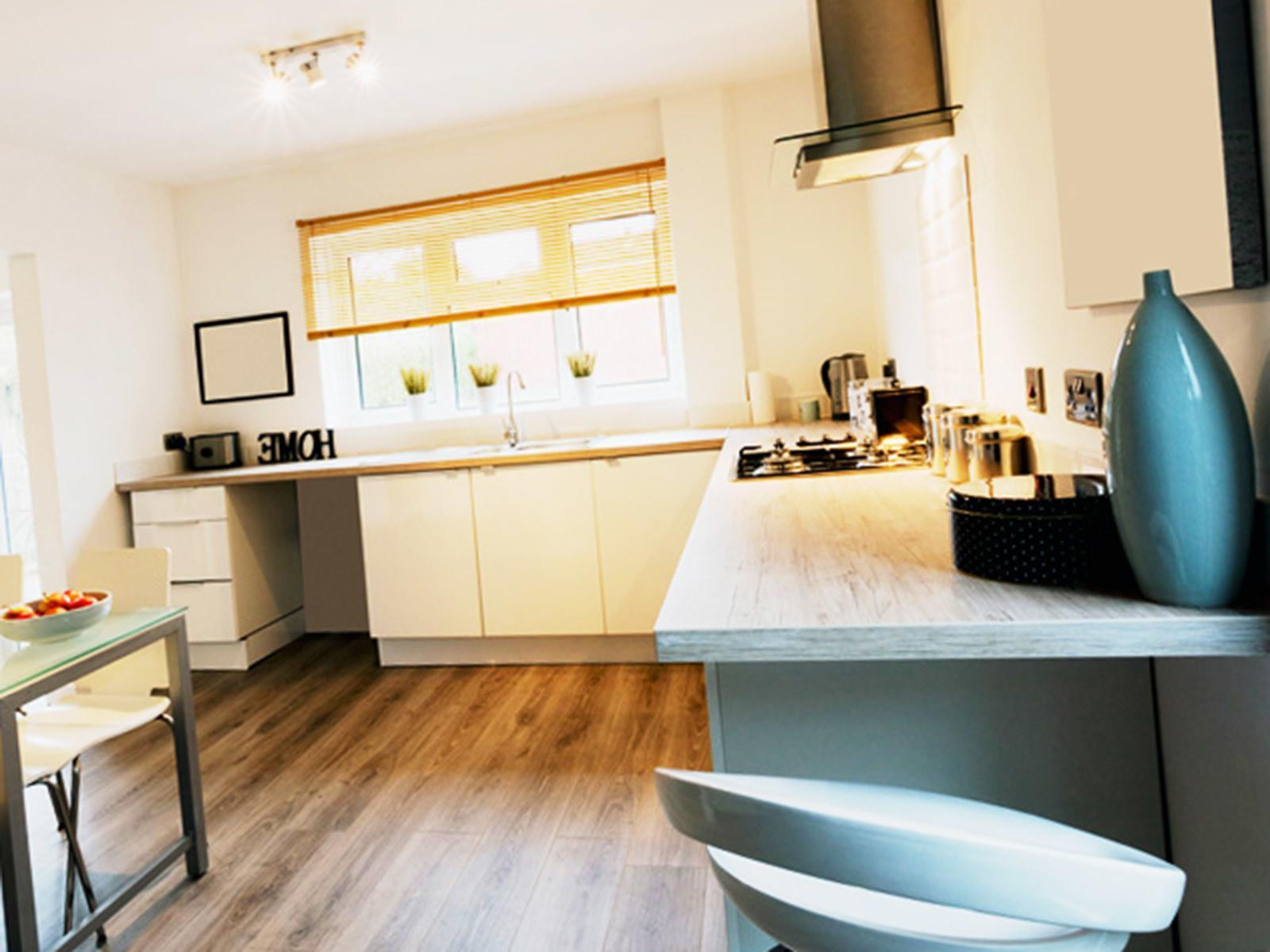 Кухонные виниловые полы на кухню 2020