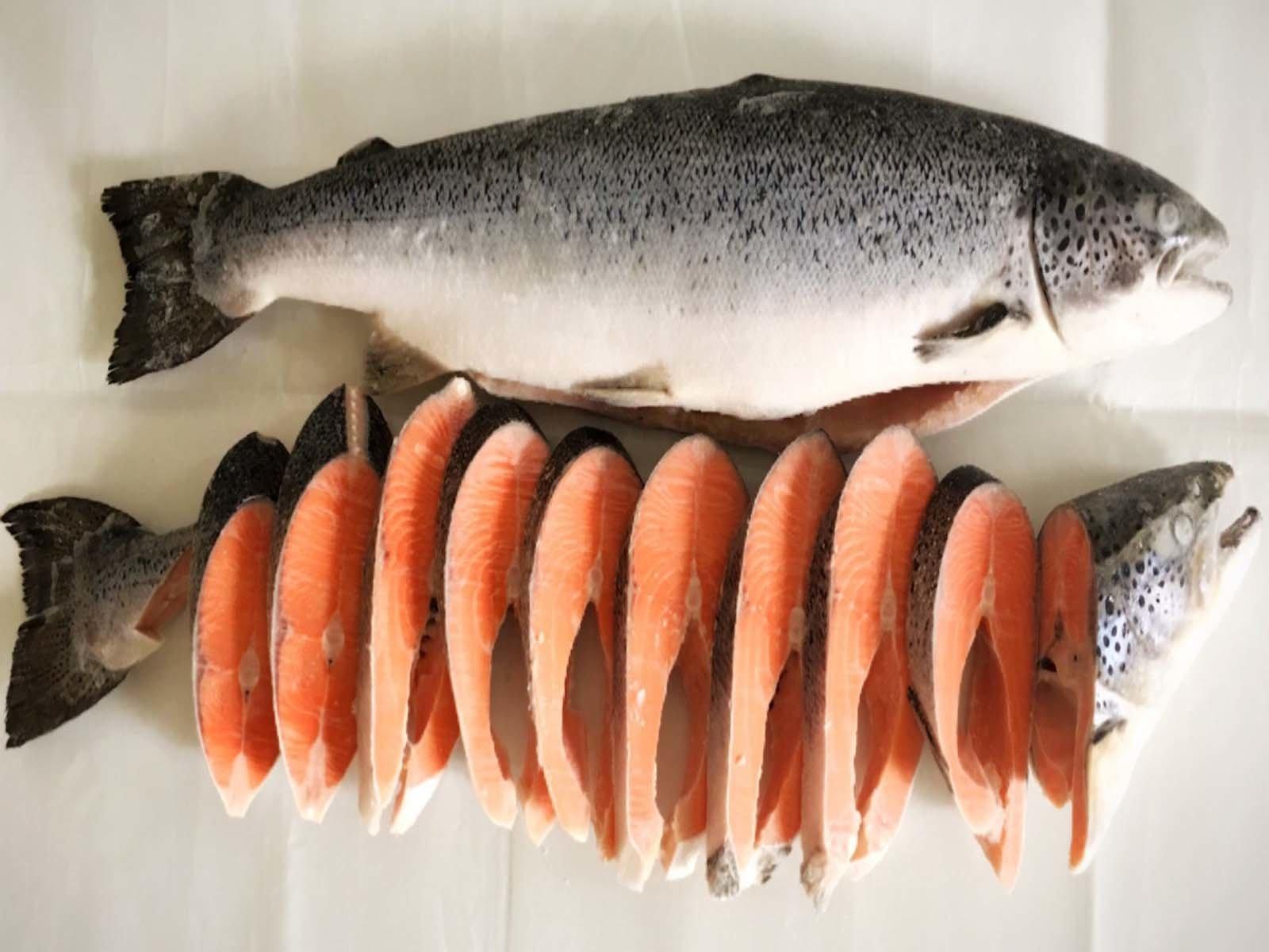 Рыбные стейки своими руками