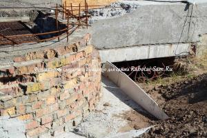 Ремонт фундамента лестницы