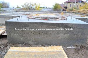 Ремонтнированный фундамент