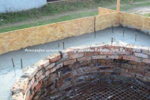 Реставрация фундамента лестницы