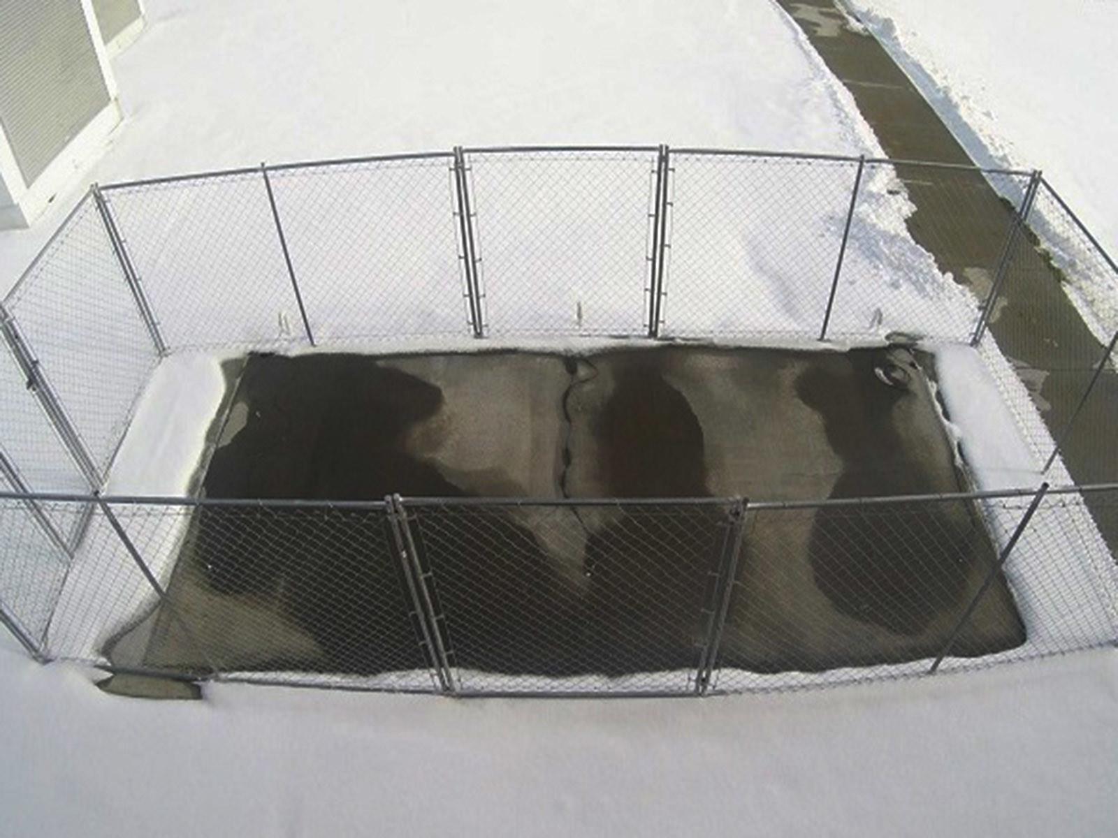 Открытие токопроводящего бетона