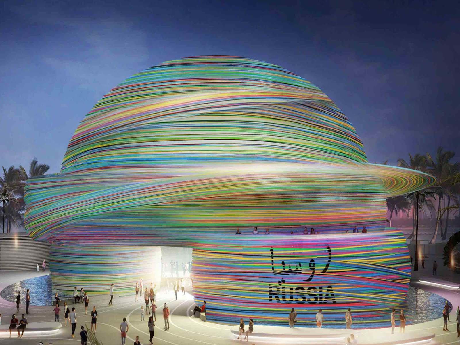 Инновационный павильон Россия экспо 2020 в Дубае