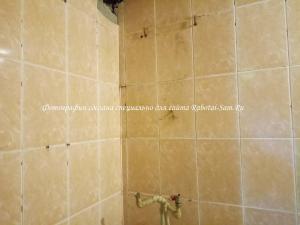 Приступаем к затирке швов в ванной комнате